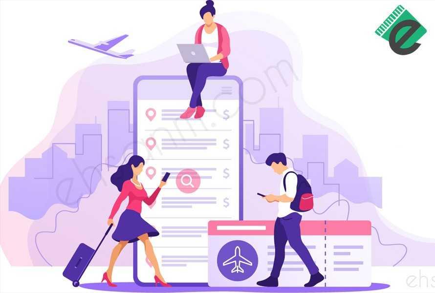 طراحی سایت هواپیمایی